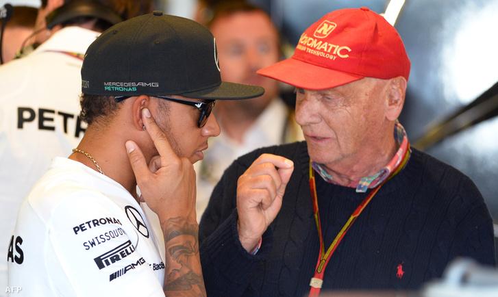 Hamilton és Lauda