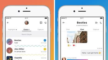 Az új Skype olyan lesz, mint a Facebook és a Snapchet szerelemgyereke