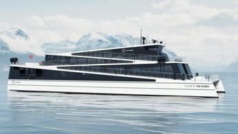 Teljesen elektromos árammal működő komp fog közlekedni Norvégiában