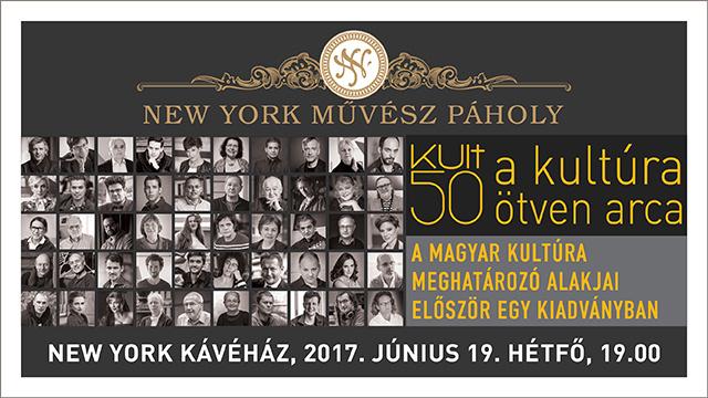 KULT50 New York Művész Páholy