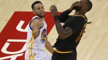 Curry és Durant szétszedte a Clevelandet
