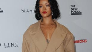 Rihanna elég frappánsan reagált a lekövérezésére
