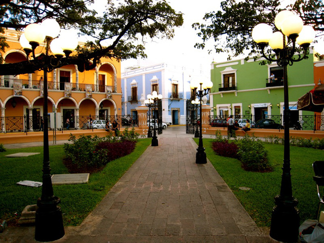 Campeche főtere