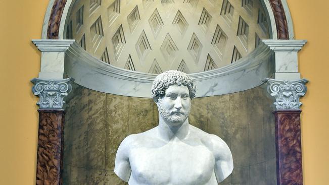 Hadrianus életét bemutató kiállítás nyílt Aquincumban