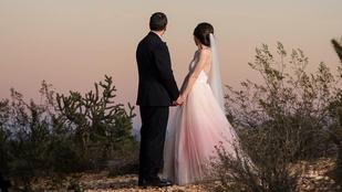 Az ombre menyasszonyi ruha az új dili