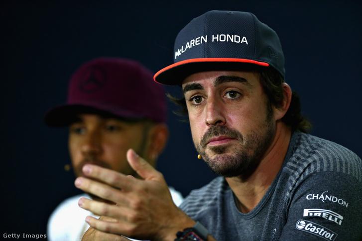 Fernando Alonso csütörtökön, Montrealban
