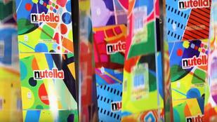Egyedi csomagolásokkal menőzött a Nutella