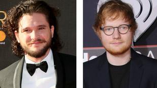 Kit Harington egy piszoárnál kötött országos barátságot Ed Sheerannel