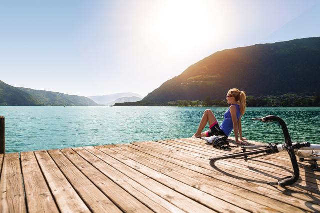 Tóparti és bringás nyaralás egyszerre