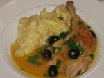 Citromos, olivás, fokhagymás csirke