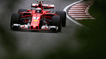 Kimi Räikkönen az élen Montrealban
