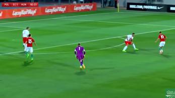 Kabarégóllal nyert az U21-es válogatott a lengyelek ellen