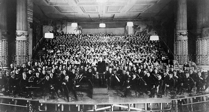 Leopold Stokowski és a Philadelphia Orchestra (1916)