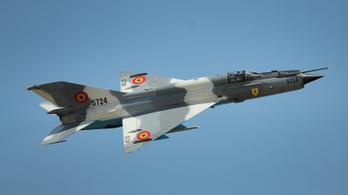 Lezuhant egy MiG-21-es Romániában