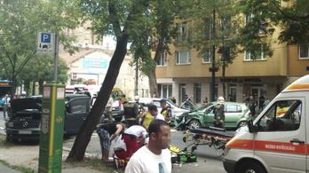 Meghalt a józsefvárosi karambol egyik sérültje