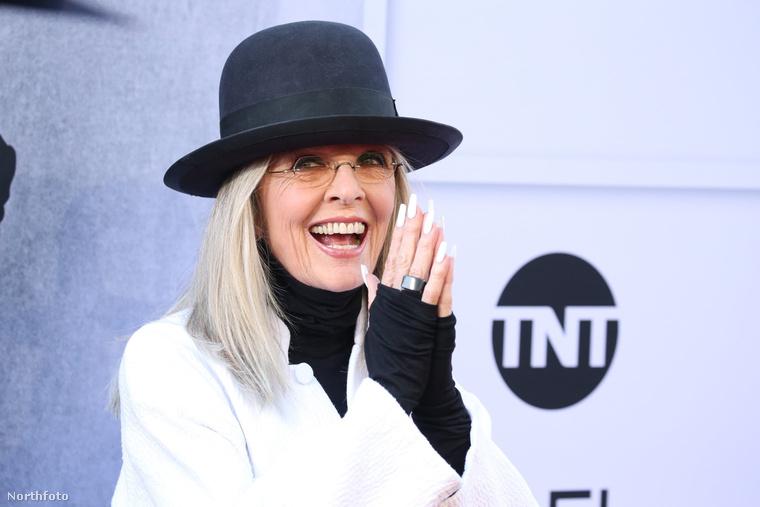 Diane Keaton a 45. AFI Life Achievement gálán életműdíjat kapott.