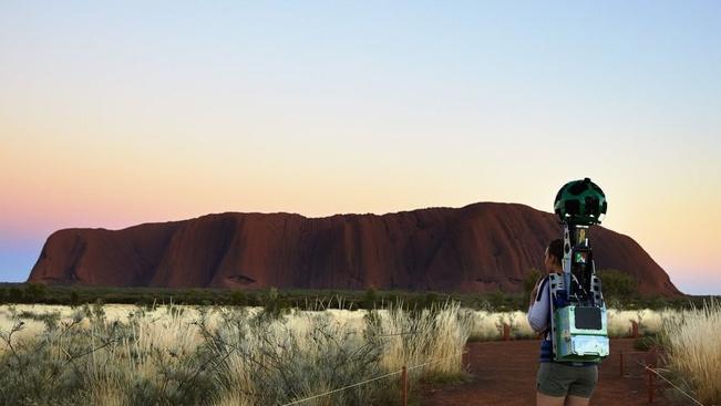 Már az ausztrálok szent sziklája is bejárható virtuálisan