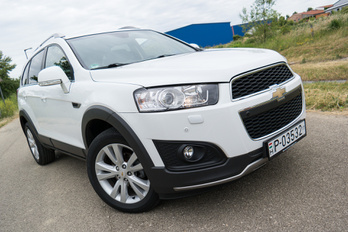 Chevrolet Korea Captiva 2012