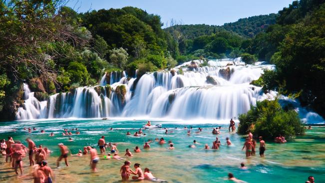 Korlátozzák a turisták számát a Krka-vízesésnél