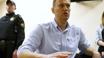 Egy hónap börtönre ítélték Navalnijt
