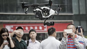 Két hét alatt 45 ezer drónt jegyeztek be Kínában
