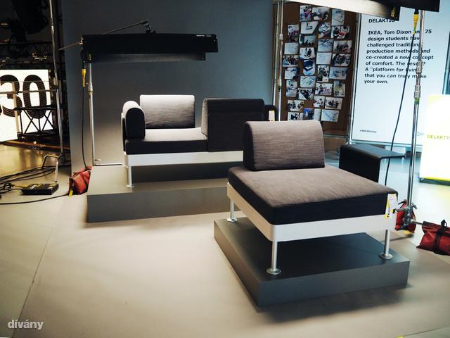 Íme Tom Dixon kanapéja. Emlékeztet bárkit is gorillára az az egyszemélyes darab?