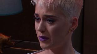 Katy Perry sírva beszélt arról, hogy öngyilkos akart lenni