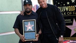 Ice Cube is csillagot kapott a Hírességek Sétányán