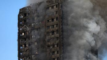 Kigyulladt egy londoni toronyház: 6 halott