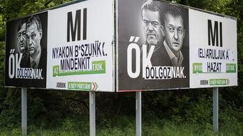 Az ellenzék ígéri, hogy nem megy át a Fidesz plakáttörvénye