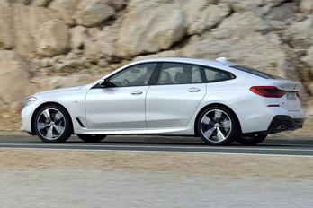 Ötajtós lett az új 6-os BMW