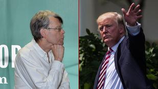 Donald Trump letiltotta Stephen Kinget Twitteren