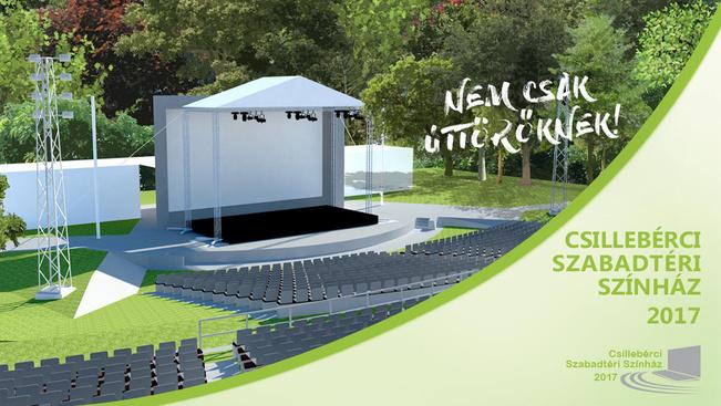 Az Abigéllel nyílik a felújított szabadtéri színpad Csillebércen