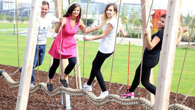 Hatalmas szabadidőpark nyílt Bécs belvárosában