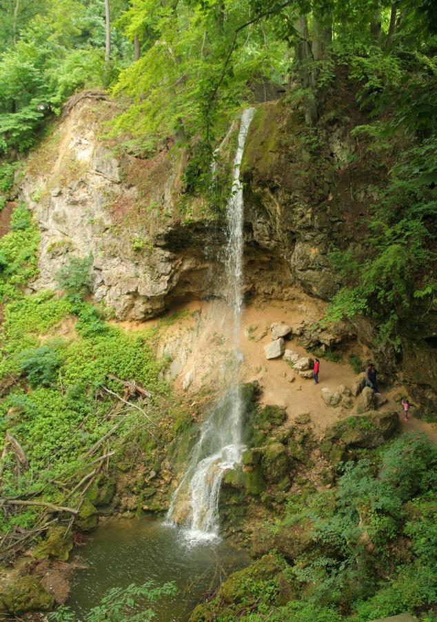 Hazánk legnagyobb vízesése Lillafüreden
