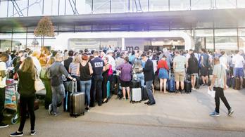 Áramszünet volt a brüsszeli repülőtéren