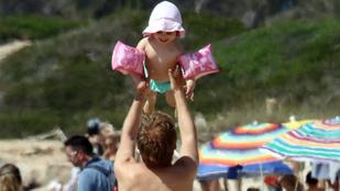 Nico Rosberg és kislánya szétcukiskodta Formenterát