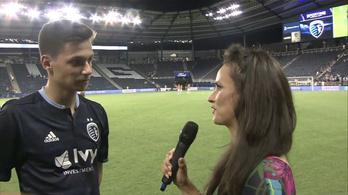 Egy videó egy magyar focistával, amitől valószínűtlenül jó hangulata lesz