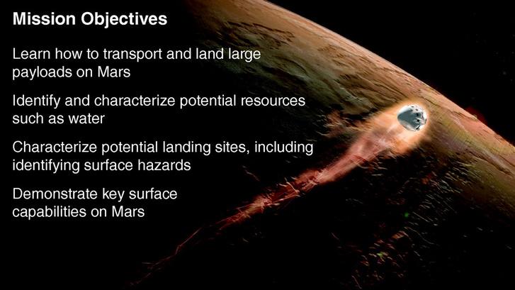 Első körben felderítőűrhajókat küldene a Marsra Musk, amikkel kitanulhatnánk miképp lehet nagyobb terheket a bolygóra juttatni, milyenek ott a landolási viszonyok, milyen nyersanyagok állnak ott rendelkezésre stb.