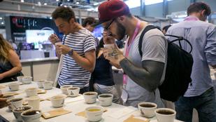 Budapesten tartották a kávésok csúcstalálkozóját