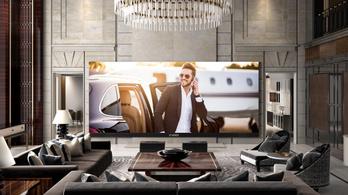 Itt a világ legnagyobb 4k tévéje
