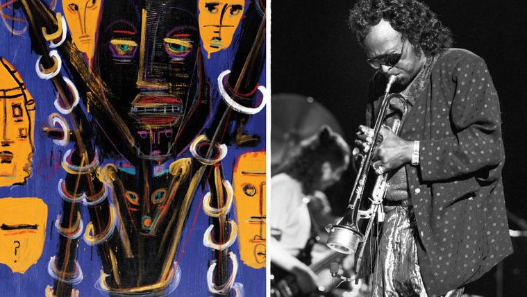 Miles Davis, a festőművész