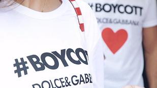 Saját magát bojkottálná a Dolce & Gabbana