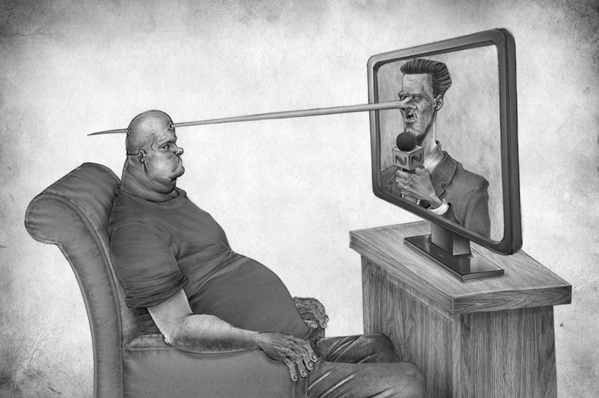 Tévedés, hogy ha nézed, tudni fogod, mi történik a világban.
