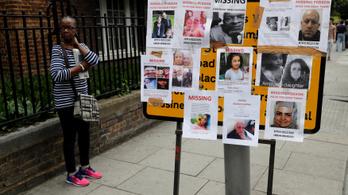 Harmincra nőtt a londoni tűzvész áldozatainak száma