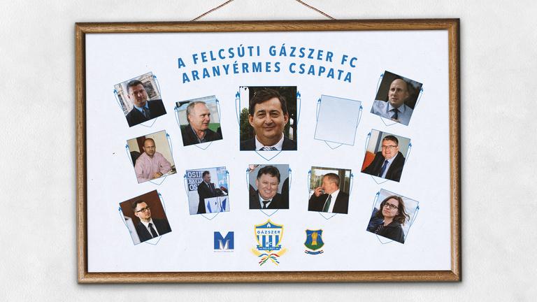 Gázszer FC: Mészáros Lőrinc 11 fős szupercsapata