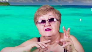Ez a YouTuber néni egészen elképesztő dogokat művel az interneten