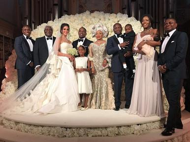 Így néz ki egy 1,7 milliárdos luxusesküvő