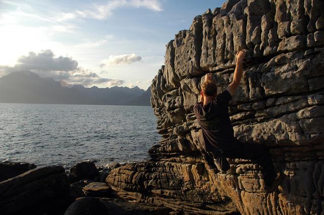Ha aktívabb kikapcsolódásra vágyik, szikla van bőven