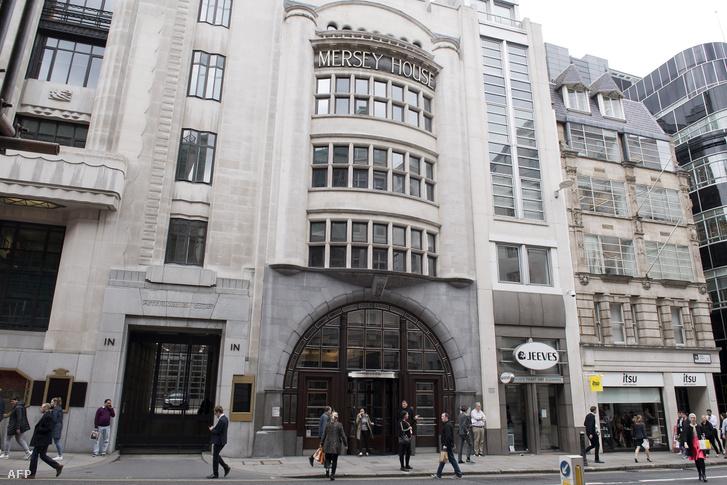A Goldman Sachs londoni főhadiszállása